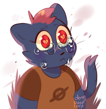 cryin mae doodle by dongoverlord