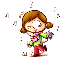 (AT)Dancing with music by aq1218