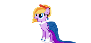 Jupiter in her Grand Galloping Gala dress~ by MadWhovianWithABox