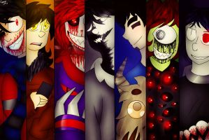 .: All the best people are crazy :. by Demonic-Trash