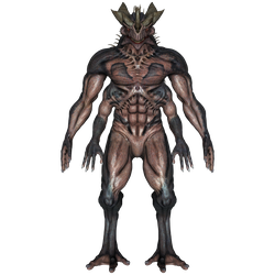 DAZ 3D (Studio): Baryolax #1: Level 4 (Front View) by Blood-PawWerewolf
