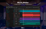 Windows 10 NEON: Music Maker by lukeled