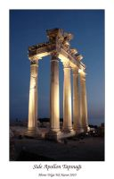 The Temple of Apollo in Side by thespis1