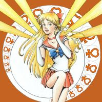 Sailor-Venus by Zoeira