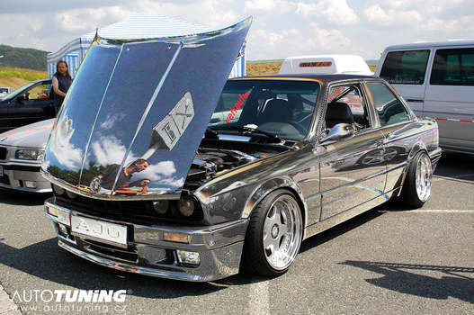 BMW E30 - A little paintwork tuning in PS :) by AjoslaF