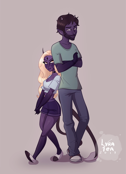 Zac and Eylin by LyraTea
