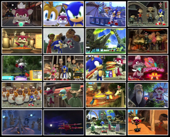 Sonic unleashed Credit album by sonic1993