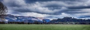 Stirling Castle - Wallace Monument by Spyder-art