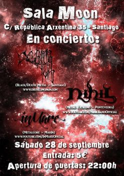 Cartel concierto Sala Moon by Kratos-83DJ