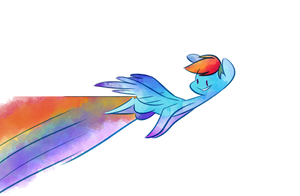 Rainbows are Visions by FluttershytheKind