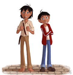 Coco - Hector and Miguel by TC-96