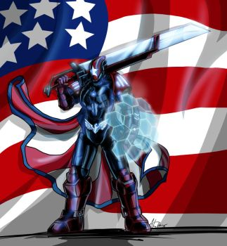 Steel Patriot by imagesbyalex