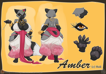 Amber Reference Sheet by atryl