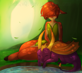 {FA} - Summer Forest by RehQwQ