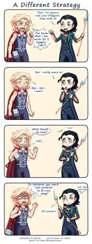 Thor - A different strategy by Tenshi-no-Hikari