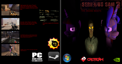 Serious Sam 3 BFE: The Insane Beasts (Fan-DLC) by Stefano96