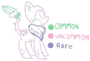 Gemling species guide by RainyStyles
