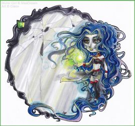 Chibi Commission .Mirror Girl. by Cleox