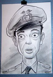 Don Knotts as Barney Fife by Uncle-White