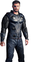 Avengers Infinity War - Thor PNG by DavidBksAndrade