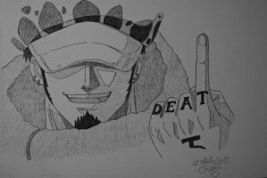 Trafalgar Law by M0nstac00kie