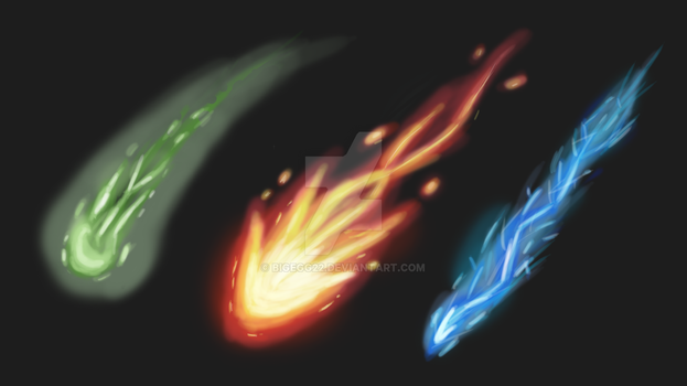 Particle Effect Practice 1 Dark by BigEgg22