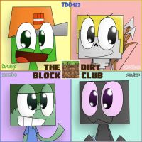 THE DIRT BLOCK CLUB by TheDrawingDino123