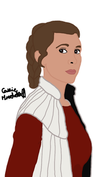 Leia on Bespin by leapylion3