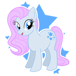 MLP:FiM Blue Belle by chibikasai