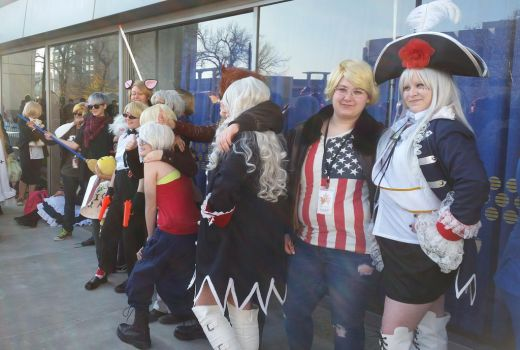 second day at Sac-Hetalia meetup-AmaPru by ArthurJones93