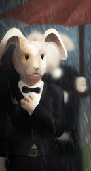 Lapin ministre by Abstractivity-Art