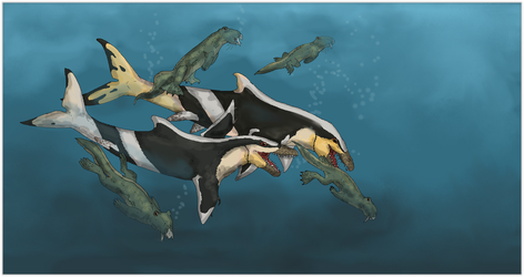 Hunt of the Sea Tyrant by Sheather888