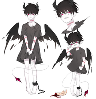 Adopt Auction: Crying Devil [closed] by yhviia-adopts