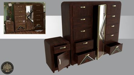 Art-Deco Furniture by Feivelyn