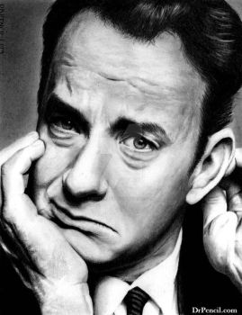 Tom Hanks by Doctor-Pencil