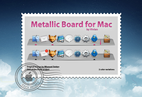Metallic Board by Gor0n