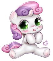 Sweetie Belle by CatMag