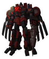 SoD Autobot Warlord - Trannis by M3Gr1ml0ck