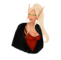World of Warcraft bust edit by ElenaForU