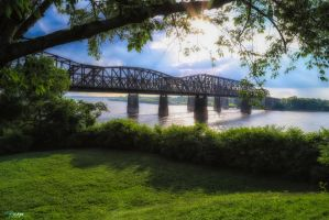 Memphis-Arkansas Bridge by rmh7069