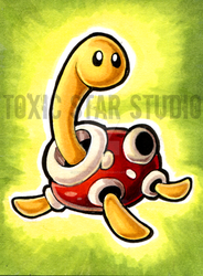 Pokeddexy 2017 - Day 1 - Shuckle by ToxicStarStudio