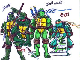 tmnt practice by trunks24