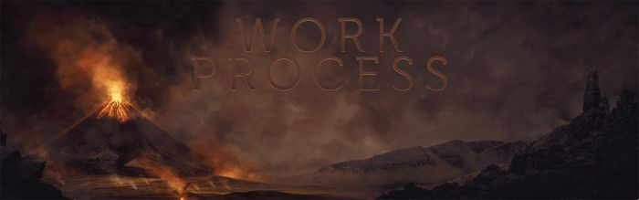 Mount Galeras / Work Process by Pincons