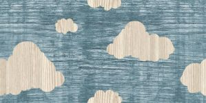 Wooden Clouds: Wallpaper Tile. by start-static