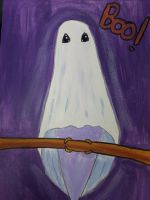 ghost budgie by TaitGallery