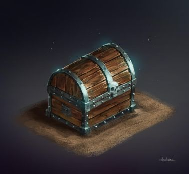 Pirate Chest by Nicohh