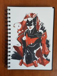 Day 121 Batwoman by TomatoStyles