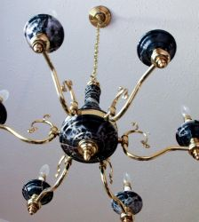 Dining Room Chandelier by neonxelectricxbunnys