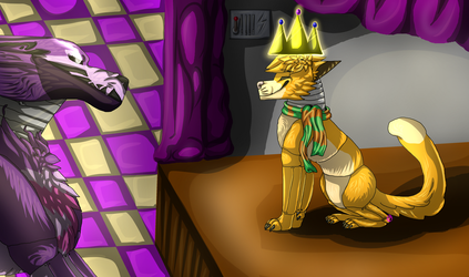 Get off the Stage, Furball! by MotherEyolf