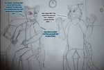 What to Draw - Anthro TF TG Page 1 (Contest Entry) by SparkBolt3020